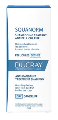 DUCRAY Squanorm sec shamp 200ml - šampon na suché lupy - 2