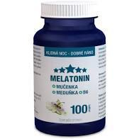 Melatonin Mučenka Meduňka B6 tbl.100 Clinical - 2