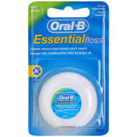 ORAL-B DENT.NIT ESSENTIALFLOSS MINT WAX 50M - 2
