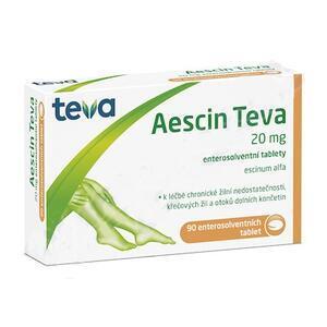 AESCIN-TEVA POR.TBL.ENT. 90X20MG - 2
