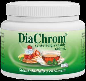 DIACHROM SE STEVIOLGLYKOSIDY TBL.600 - 2