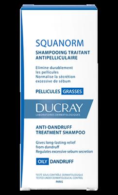 DUCRAY Squanorm grass shamp 200ml - šampon na mastné lupy - 2