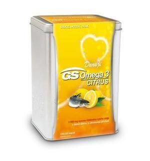 GS Omega 3 Citrus cps.100+50 dárek 2019 - 2