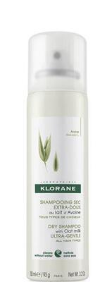 Klorane Oves suchý šampon sprej 150ml pro normální vlasy - 2