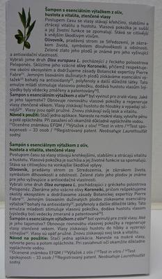 KLORANE OLIVA SHAMP 200ML PROTI SLÁBNOUC.VLASŮM - 3